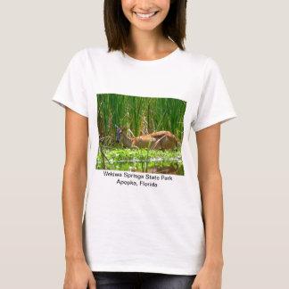 White tail deer in wekiwa springs state park. T-Shirt