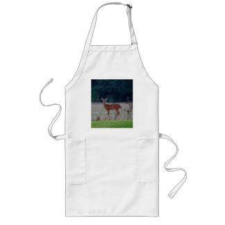 White Tail Deer Long Apron