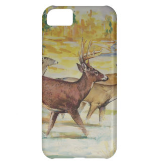 White Tail Deer On The Run iPhone 5C Cover
