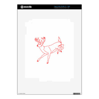 White Tail Deer Skins For iPad 2
