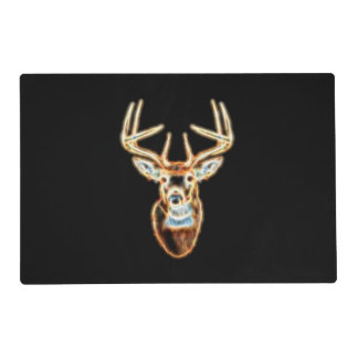 White Tail Head Energy Spirit Placemat