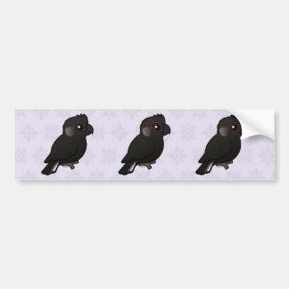 White-tailed Black Cockatoo Bumper Sticker