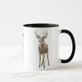White Tailed Buck Ringer Mug