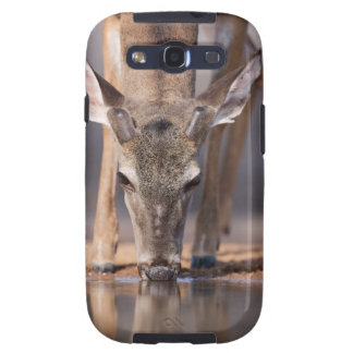 White tailed deer at waterhole galaxy SIII cover