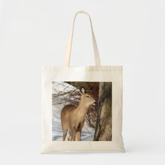 White-tailed Deer (Close Up) Tote Bag