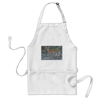 White-Tailed Deer Fawn Adult Apron