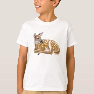 White Tailed Deer Fawn Kids T-Shirt