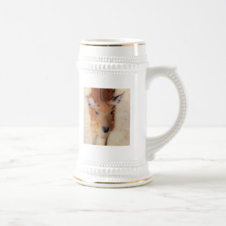 'White-tailed Deer Greeting' Beer Stein
