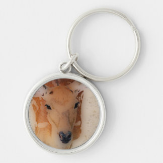 'White-tailed Deer Greeting' Keychain
