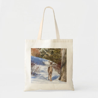 White-tailed Deer Looking At You Tote Bag