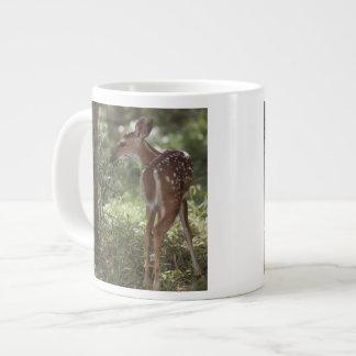 White-tailed Deer, Odocoileus virginianus, 2 Large Coffee Mug