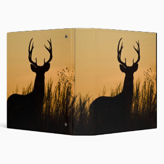 white-tailed deer Odocoileus virginianus) 3 Ring Binder