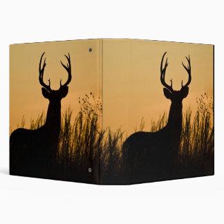 white-tailed deer Odocoileus virginianus) Vinyl Binders