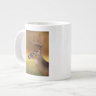 White-tailed Deer, Odocoileus virginianus, Giant Coffee Mug