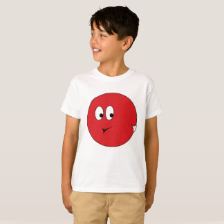 White-tailed Red Spherical Mootleblop T-Shirt