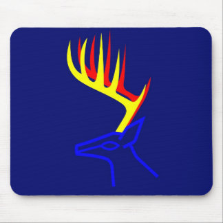 White Taled Deer Mouse Pad