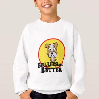 White/Tan Bulldog Sweatshirt