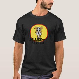 White/Tan Bulldog T-Shirt
