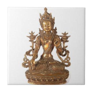 WHITE TARA BUDDHIST DEITY TILE