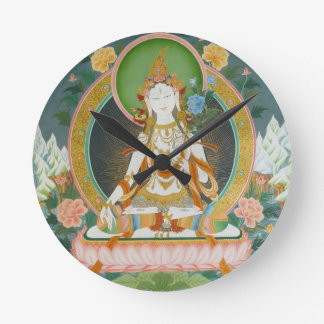 White Tara Clock