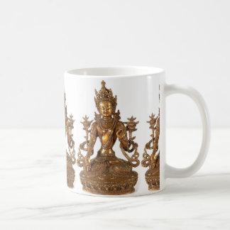 WHITE TARA GODDESS OF LONG LIFE COFFEE MUG