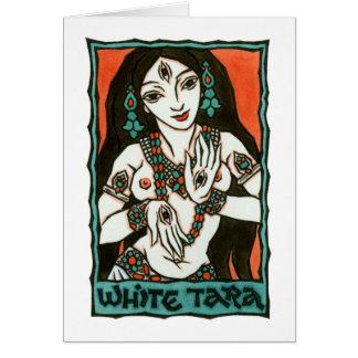 White Tara Greeting Card