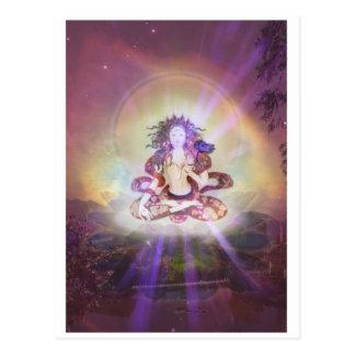 'White Tara' postcard