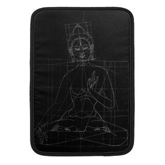White Tara Sketch MacBook Sleeve