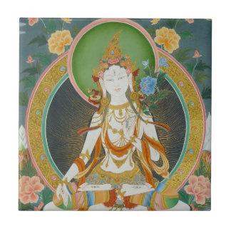 White Tara Tile