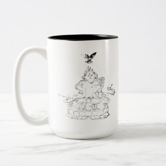 White Tara Two-Tone Coffee Mug