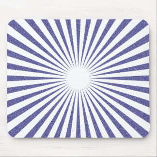 White Target - Mouse Pad