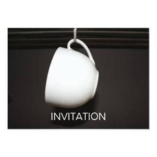 White Tea Cup Invitation