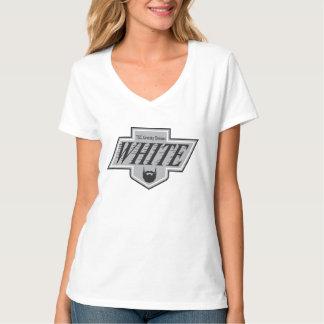 White Team LA Kings 1988 Logo Women's T-Shirt