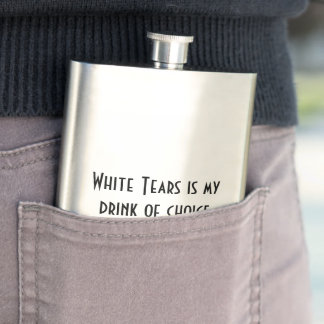 White Tears Drinking Flask