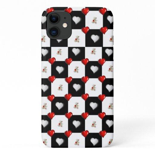 White Teddy Bear Iphone Case