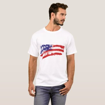 USA Themed white tees