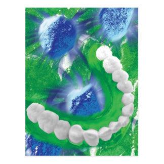 White Teeth Design Dentist Orthodontist Card