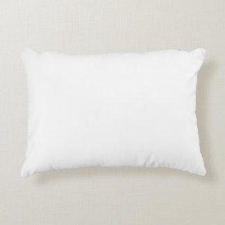 White Template Decorative Pillow