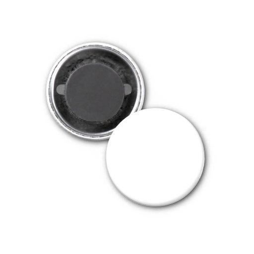 White Template Fridge Magnet