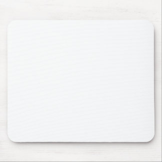 White Template Mouse Pad