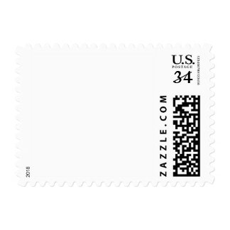 White Template Postage Stamps