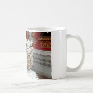 White Temple Dragon Coffee Mug