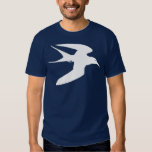 White Tern Bird In Flight T-shirt