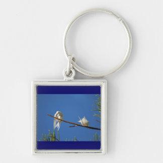 White Terns Keychain