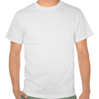 White Text on Blue T-shirts