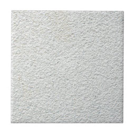 White Textured Cement Tile Zazzle