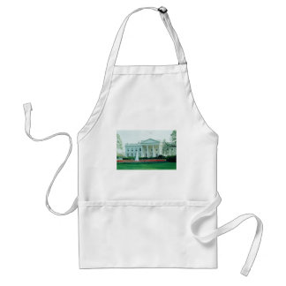White The White House, Washington, D.C., U.S.A. fl Adult Apron