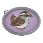 White-throated Sparrow Belt Buckle