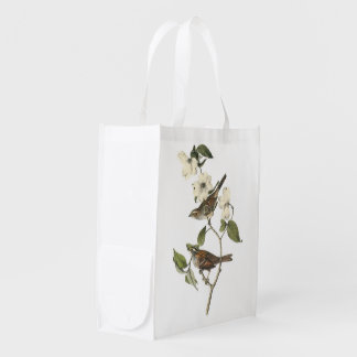 White-throated Sparrow by Audubon Grocery Bag