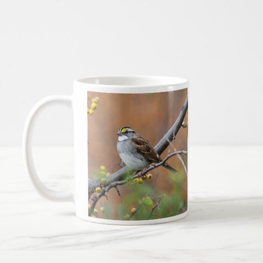 White-throated Sparrow Coffee Mug